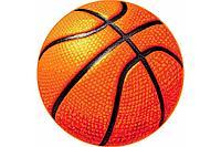 Детский коврик 0,80 х 0,80 Круглый 11189/160 Баскетбольный мяч