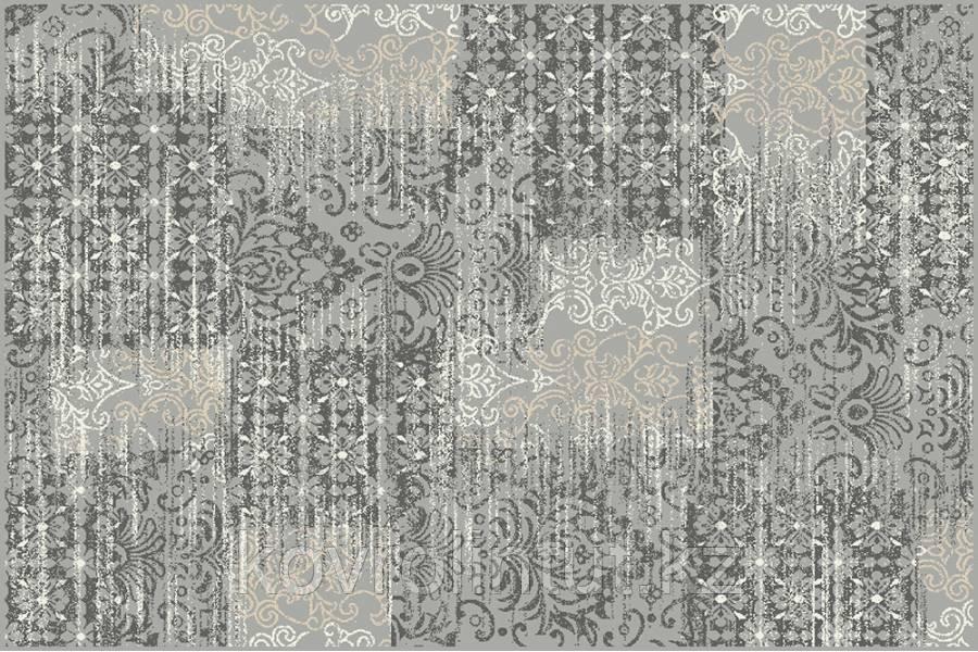 Ковёр  Украина DREAM 2,0х30  18069/190 Серый квадраты