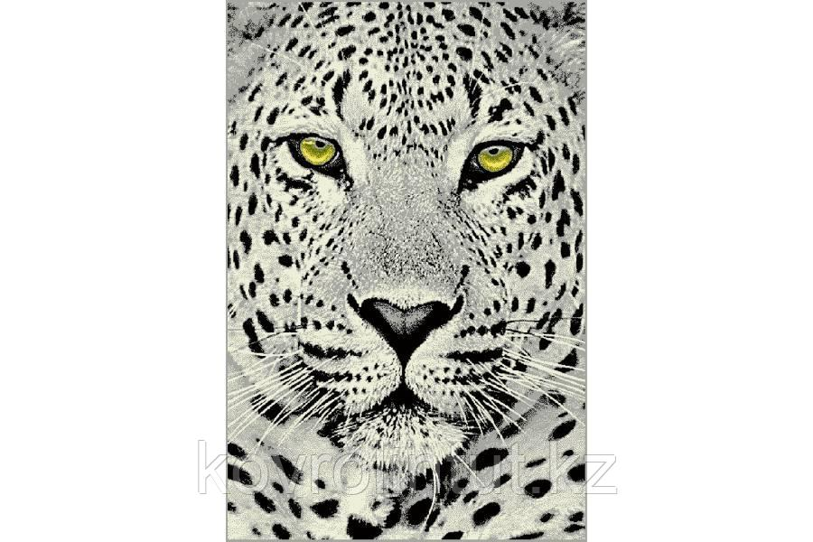 Ковёр  Украина KOLIBRI  FRIZE  1,2х1,7  11368/190 Белый леопард