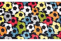 Ковёр Украина KOLIBRI FRIZE 1,6х2,3 11047/123 Футбольный мячи