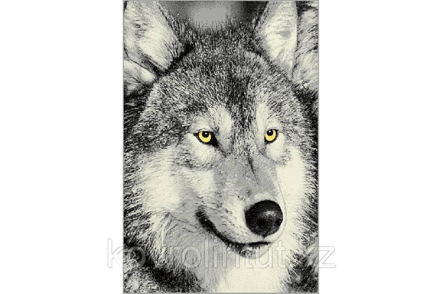 Ковёр  Украина KOLIBRI  FRIZE  1,6х2,3  11395/190 Волк серый