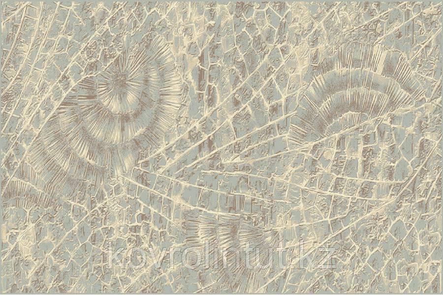 Ковёр  Украина POLLY  30021/312  2,0 х 3,0  Бежевый голубой веер