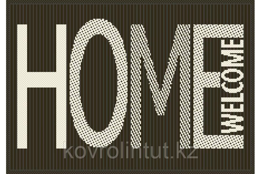 Коврик Украина FLEX циновка  прямоугольный  19503/80 0,50х0,80 Серый HomeWELCOME