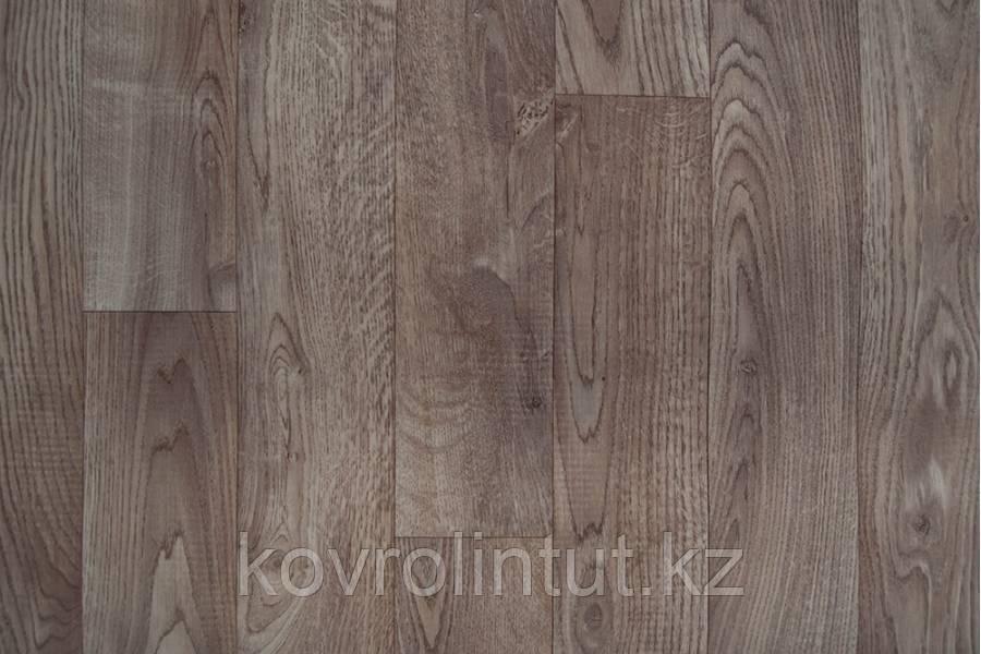 Линолеум Juteks OPTIMAL Bourbon 7066 4,0 м Доска серый