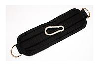 Манжета тканевая с карабином, черная MN-1010