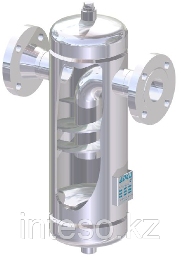 Сепаротор для пара и сжатого воздуха  S25/SS (из нержавеющей стали) PN16 – PN40