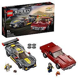 Конструктор LEGO Speed Champions Chevrolet Corvette C8.R Race Car and 1968 Chevrolet Corvette