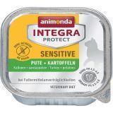 Animonda 100г Sensitive Turkey & Potatoes c индейкой и картофелем при пищевой аллергии питание для кошек