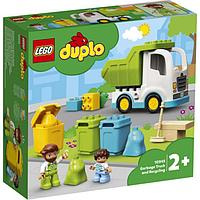 Lego 10945 Дупло Мусоровоз и контейнеры для раздельного сбора мусора