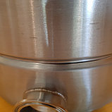 """Универсальный котел 37 литров с зиговкой. Кламп под ТЭН 2"""", Слив 1/2"""", фото 4"""