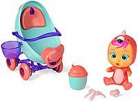 Cry Babies игровой набор с мини куклой Фэнси и коляской