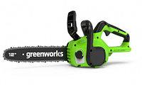 Пила цепная Greenworks GD24CS30 (без батареи и зарядного устройства) (2007007)