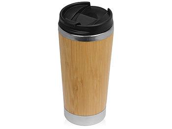 Термокружка Stem с бамбуковым корпусом