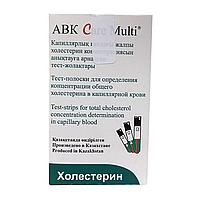 Тест-полоски холестерина, ABK Care Multi № 25