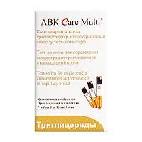 Тест-полоски триглицеридов, ABK Care Multi № 25