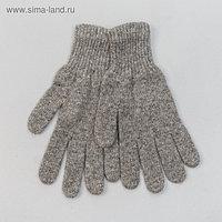 """Перчатки мужские из шерсти """"Як"""" 04122 цвет серый, р-р 20-24"""