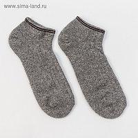 Носки мужские, цвет серый, размер 27 (40-42)