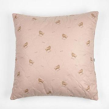 "Подушка Адамас ""Овечья шерсть"", размер 70х70 см, чехол тик"