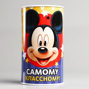 """Копилка детская """"Самому классному"""", Микки Маус, 6,5 х 12 см"""