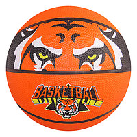 Мяч баскетбольный «Тигр», размер 7, бутиловая камера, 480 г, цвета МИКС