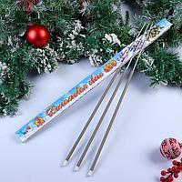 """Бенгальские огни, 60 см, 3 штуки, """"Новогодние"""""""