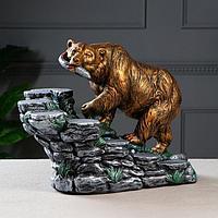 Мини-бар 'Медведь', цвет разноцветный, 33 см