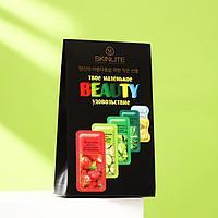 Набор косметических масок для лица Skinlite «Твоё маленькое beauty удовольствие», 5 шт.