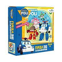 Пазл 36 элементов «Робокар Поли. Беззаботный денек»