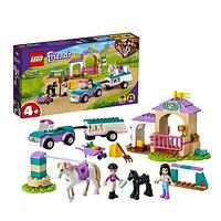 Lego 41441 Подружки Тренировка лошади и прицеп для перевозки