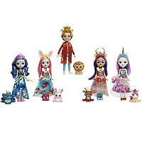Enchantimals Royal Набор из 5 кукол Королевские друзья Энчантималс
