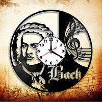 Настенные часы композитор Иоганн Себастьян Бах, подарок фанатам, любителям, 2884
