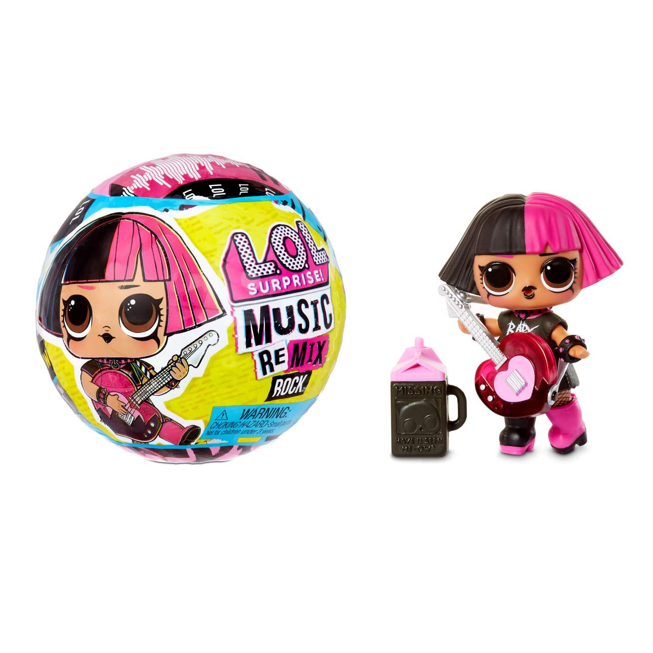 LOL Surprise Кукла ЛОЛ Ремикс Рок в шарике, Remix Rocki Оригинал
