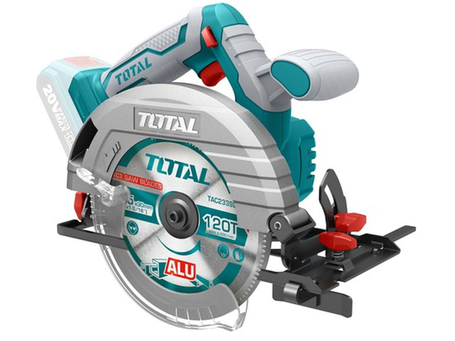 Аккумуляторная циркулярная пила Total (TSLI1651)