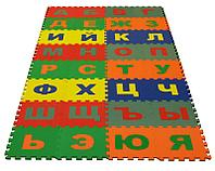 Развивающий мягкий коврик на казахском языке 42 детали Россия