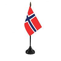 Государственный флаг Норвегии, размер: 15х22 см