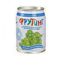 Fruiting напиток из виноградного сока с цельным виноградом, 238 мл
