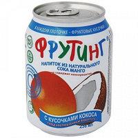 Fruiting напиток из сока манго с кусочками кокоса, 238 мл