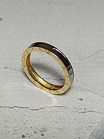 Золотое кольцо под Bulgari / 18 размер