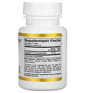 California Gold Nutrition, Коэнзим Q10, 100 мг, 30 растительных капсул, фото 2
