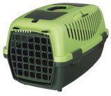Trixie до 8кг,  37 х 34 х 55 см Зеленый транспортировочный бокс для небольших пород собак и кошек
