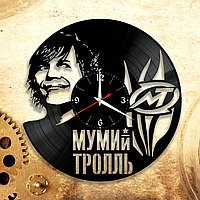 Настенные часы Мумий Тролль Илья Лагутенко, подарок фанатам, любителям, 2912