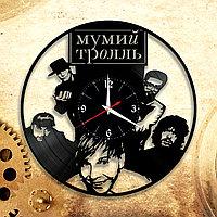 Настенные часы Мумий Тролль Илья Лагутенко, подарок фанатам, любителям, 2914