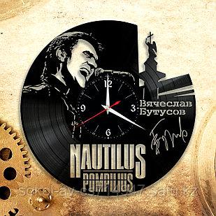 Настенные часы Наутиилус Помпилиус Nautilus Pompilius, подарок фанатам, любителям, 2914