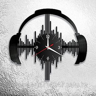 Настенные часы Техно музыка Techno Music, подарок фанатам, любителям, 2915