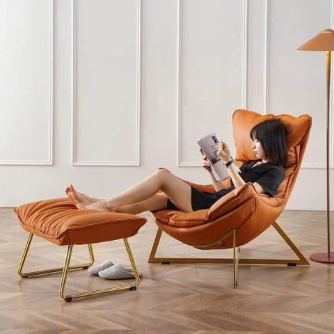 Кожанный кресла
