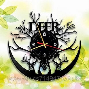 Настенные часы Олень, подарок фанатам, любителям, 2916