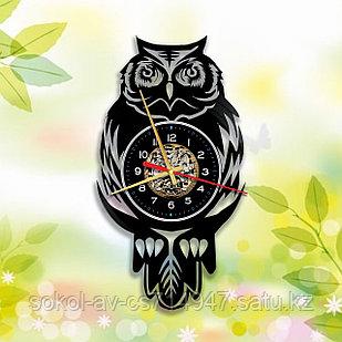 Настенные часы Сова, подарок фанатам, любителям, 2920