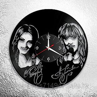 Настенные часы София Ротару и Алла Пугачева, подарок фанатам, любителям, 2921