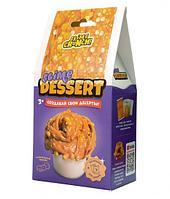 Slime Dessert Создай свои Хрустящий Слайм Десерт Карамельный чизкейк, мини, 165 гр.