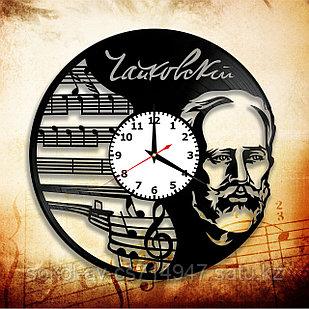 Настенные часы Пётр Чайковский композитор, подарок фанатам, любителям, 2926